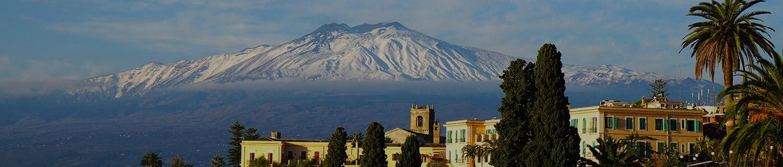 Etna sous la neige